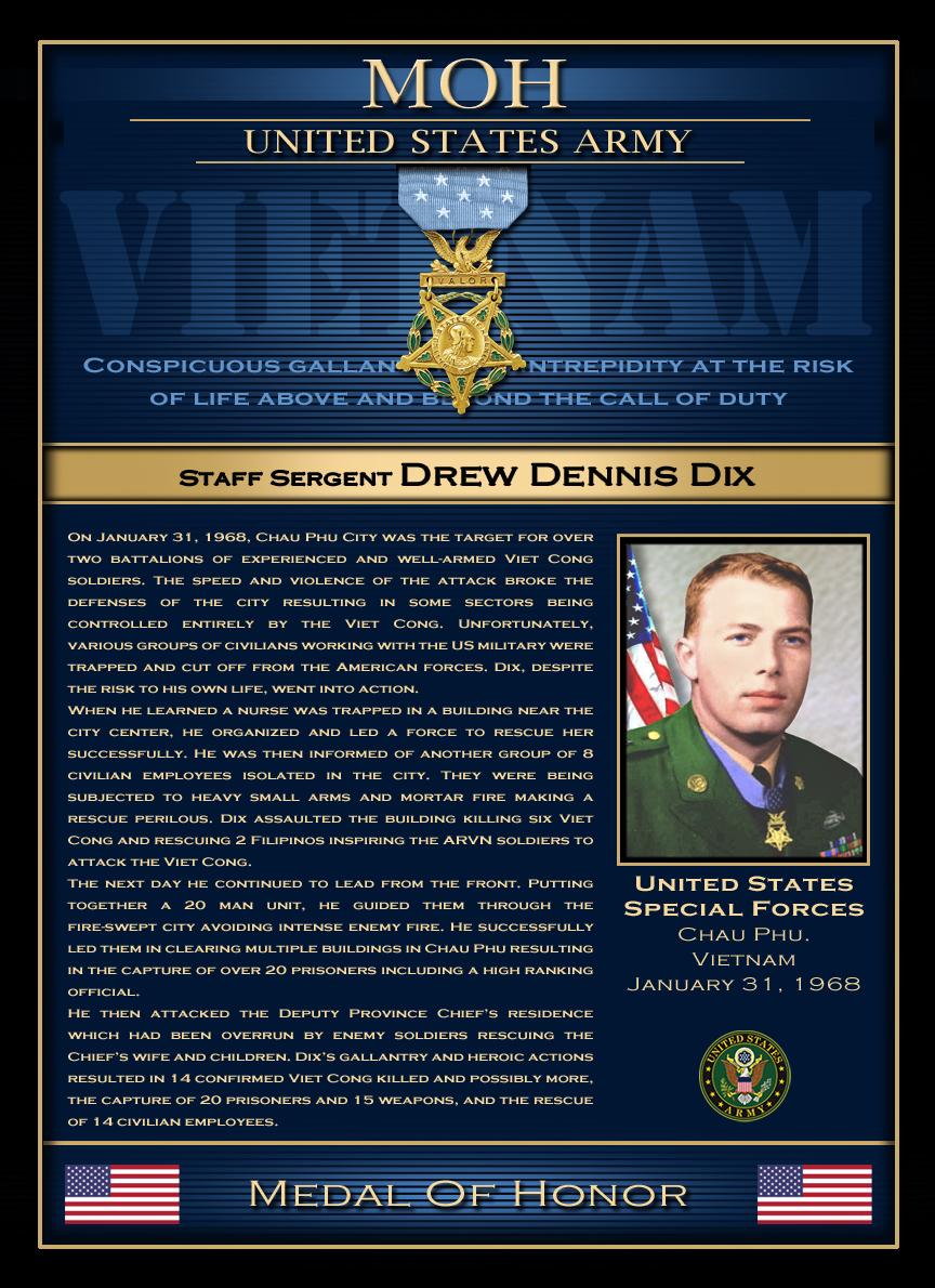 MOH : Staff Sergent Drew DennisDix