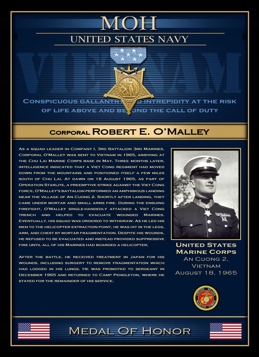 MOH : Corporal Robert E.O'Malley