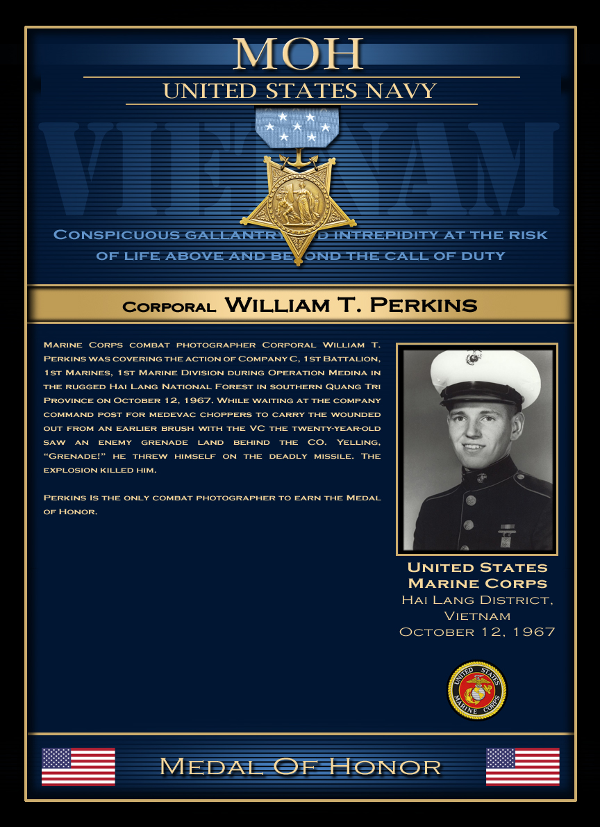 MOH : Corporal William T. Perkins