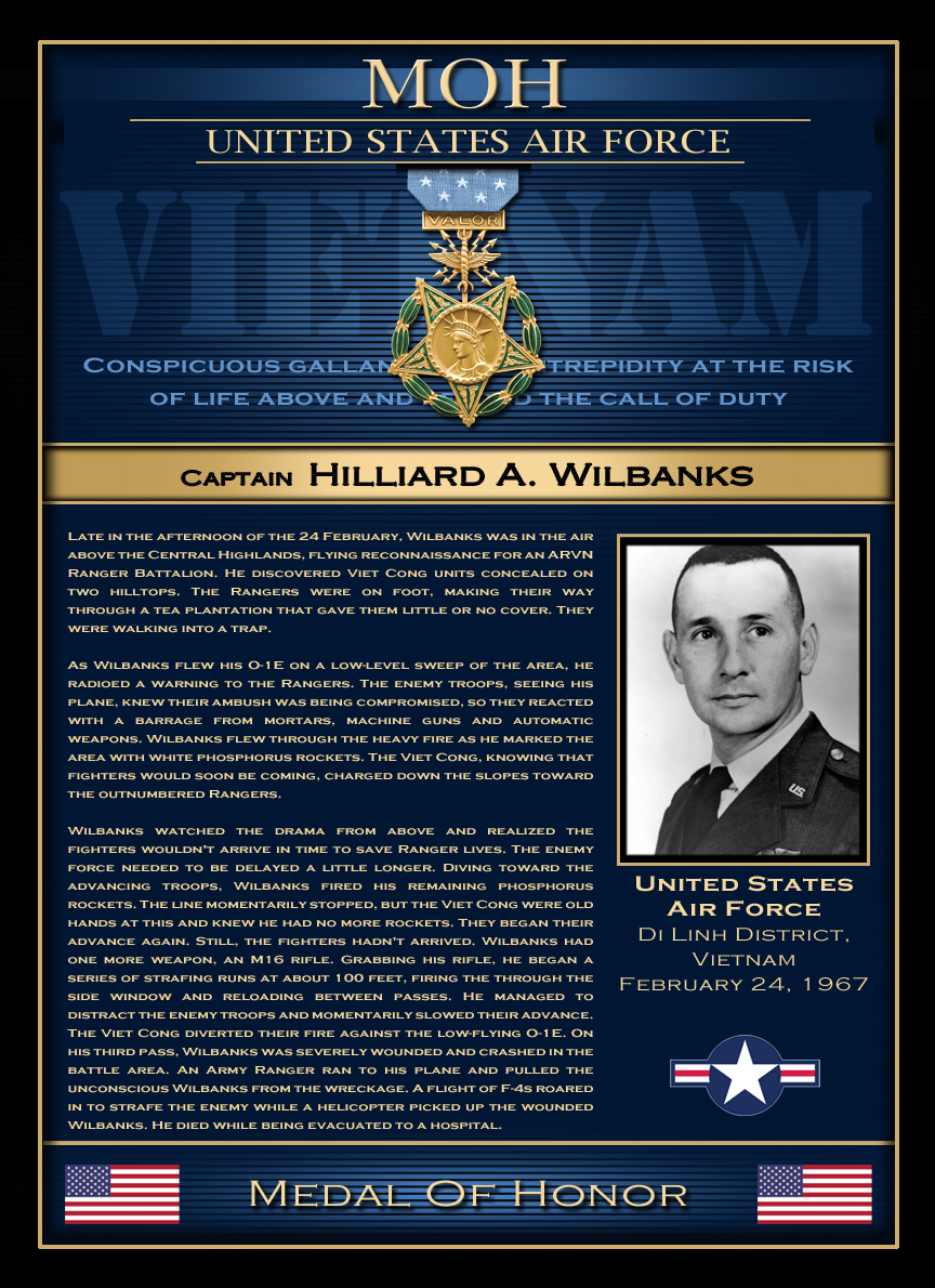 MOH : Captain Hilliard A. Wilbanks