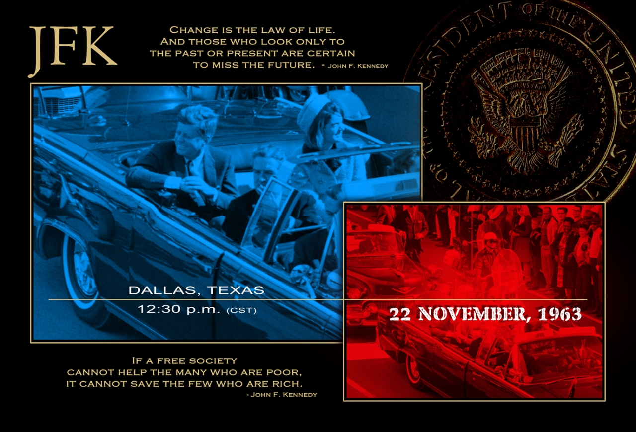 Dallas, 22 November 1963 – 12:30 PM GST