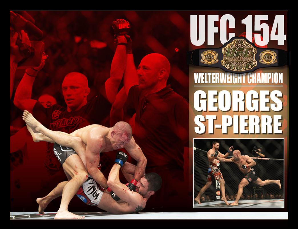 GSP-UFC 154